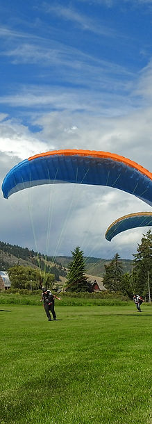Fly Tandem in the Okanagan Valley near Vernon BC