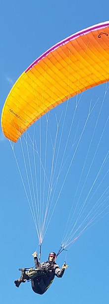 Paragliding Lessons in the Okanagan Valley near Vernon BC - P1 and P2 Courses