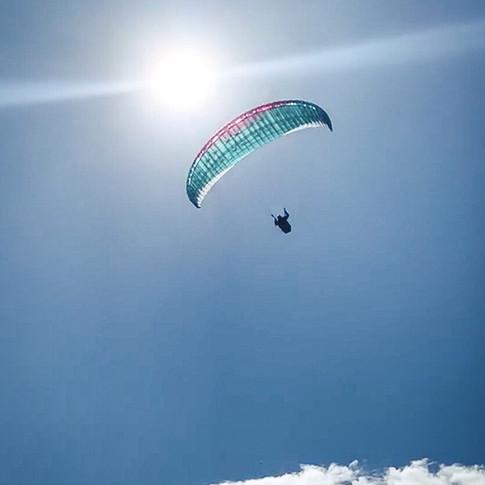 Jeff flying high!