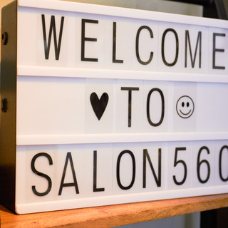 Welcome to Salon 560