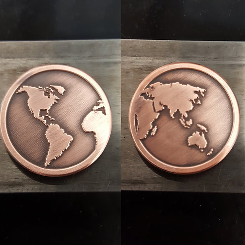WORLD BALL MARKER