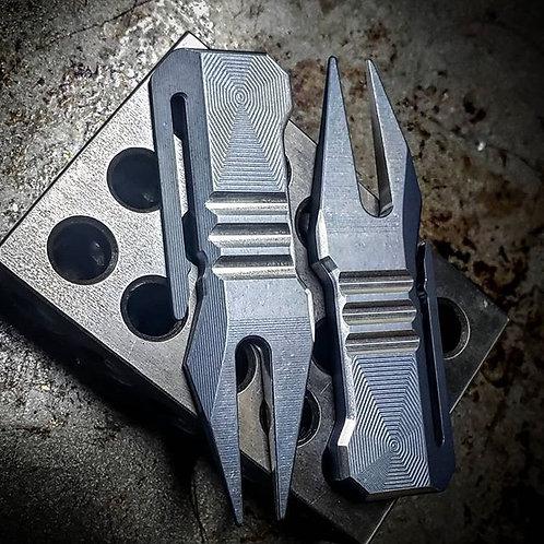 Aluminum Anodized EDC Divot
