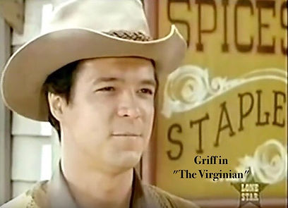 Brendon Boone as Griff in THE VIRGINIAN