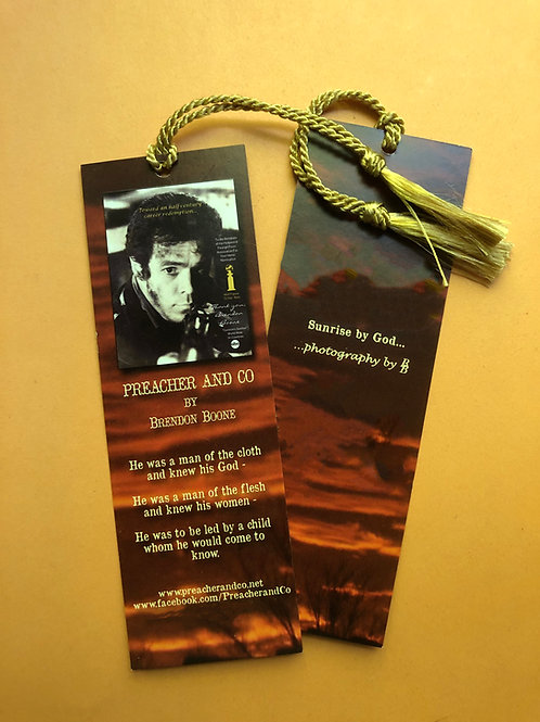 PREACHER AND CO Book Mark - unsigned