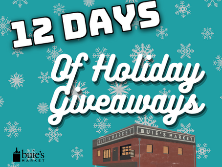 12 Days of Holiday Giveaways!