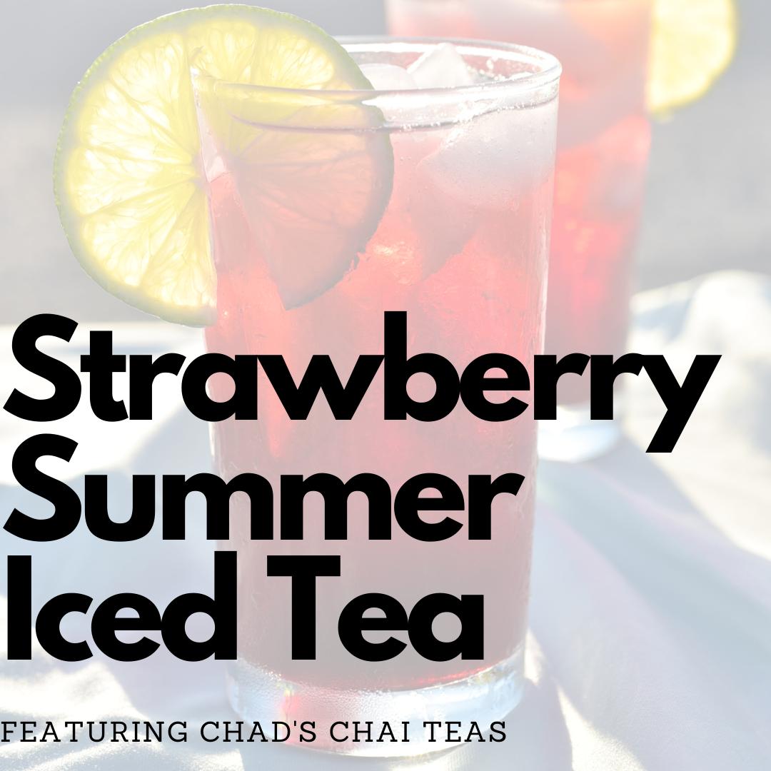 Strawberry Summer Iced Tea