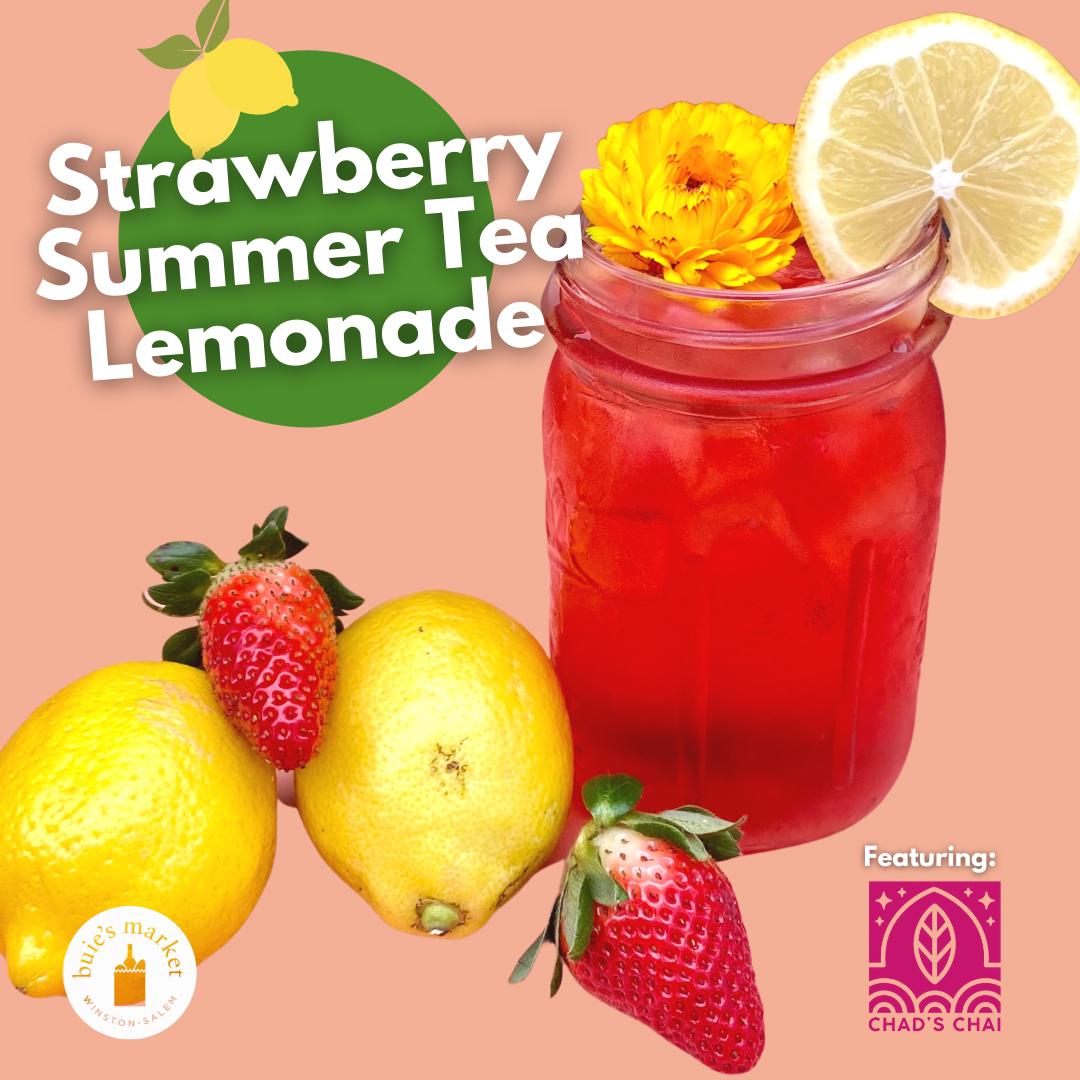Strawberry Tea Lemonade