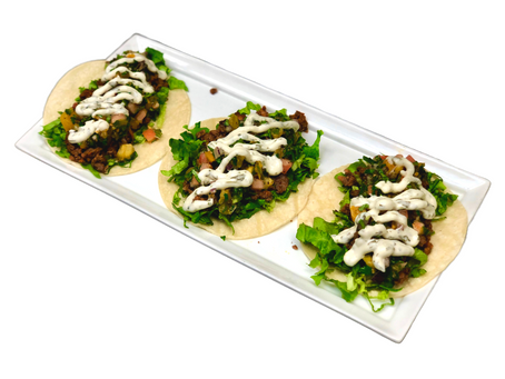 Monday With Mack - Beyond Beef Tacos with Pico De Gallo and Cilantro Lime Veganaise