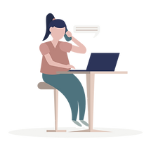 Professional Organiser Calling A Client
