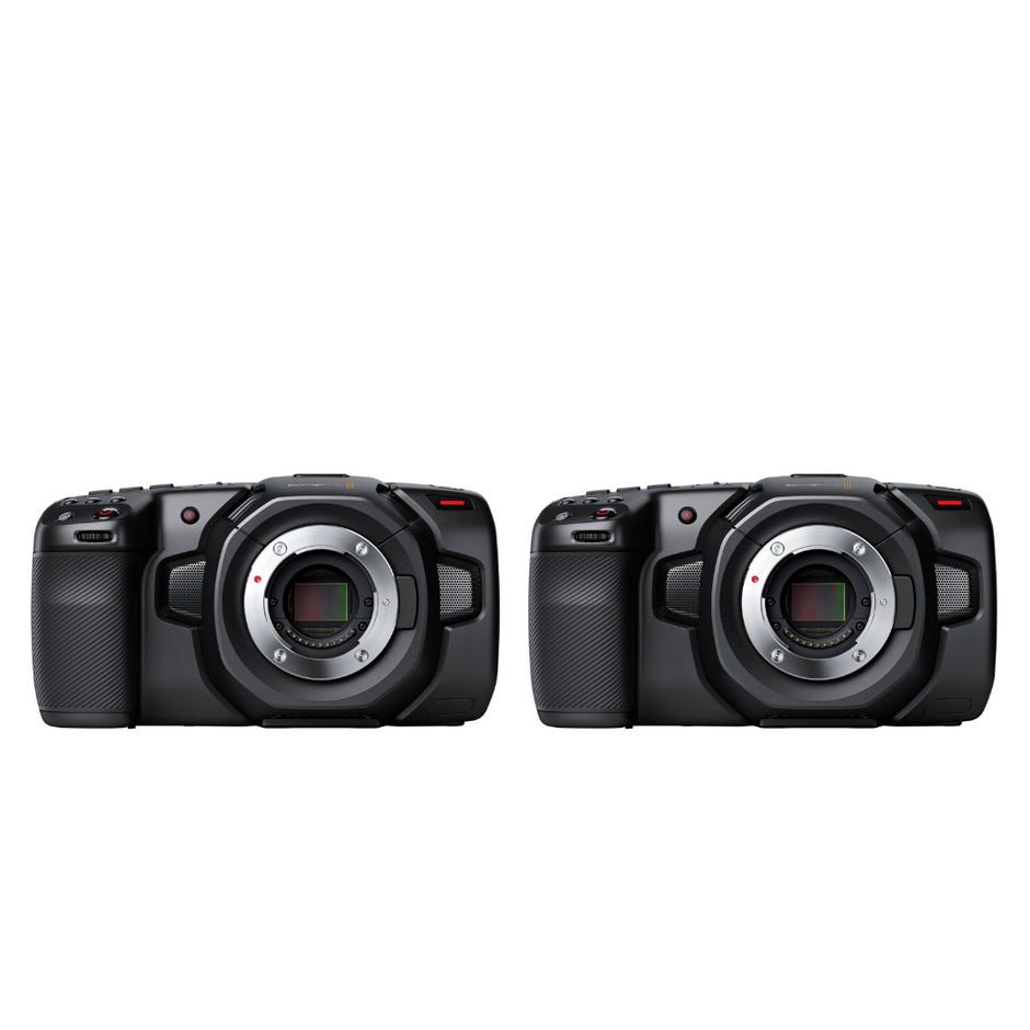 2x Blackmagic Pocket Camera Package