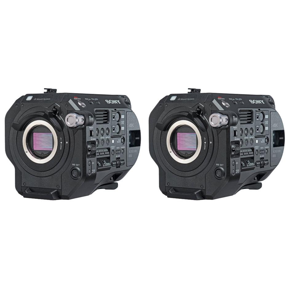 2x Sony FS7 Mark II Camera Package