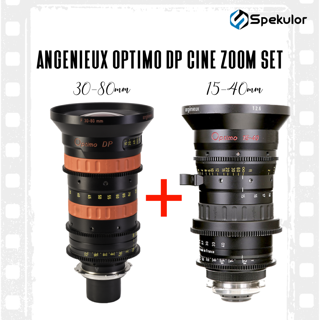 Angenieux Optimo DP Lens Set