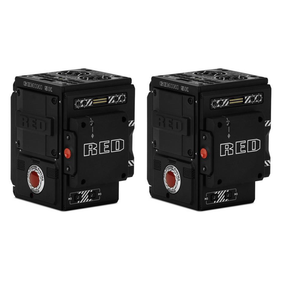 2x RED Gemini Cameras Package