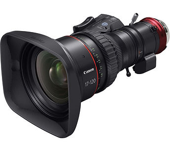 rent Canon CINE-SERVO 17-120mm T2.95-3.9