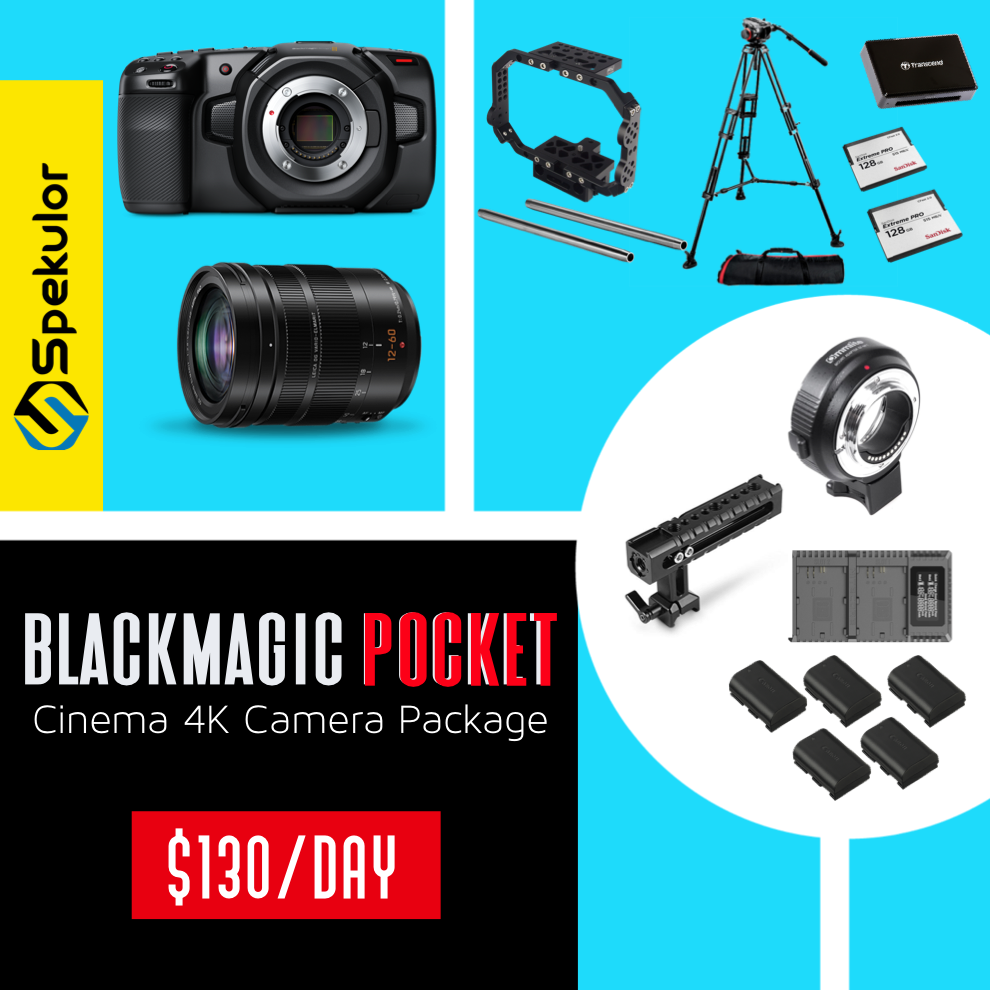 Black Magic Pocket Camera