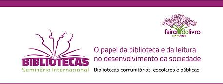 Seminário Internacional Feira do Livro Porto Alegre