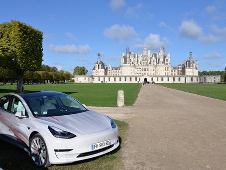 Rassemblement Tesla Owners Club France - Chateaux de Chambord