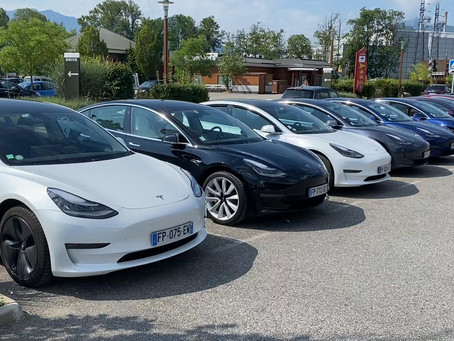 Rassemblement Tesla Owners Club France - Chambery