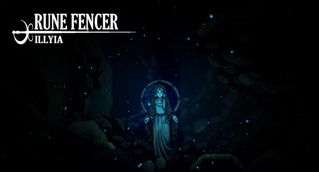 Rune Fencer Illyia Background Image
