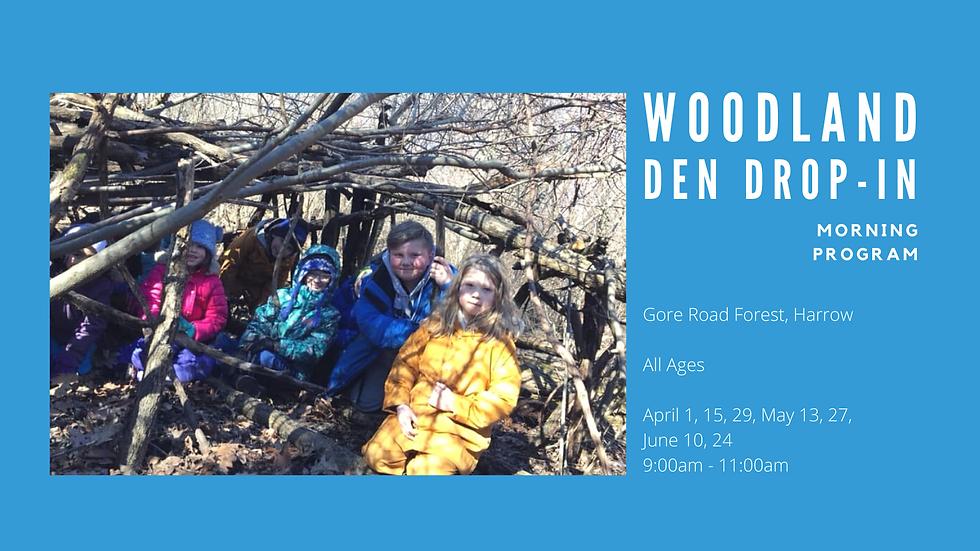 Woodland Den Drop-In (Morning Program)