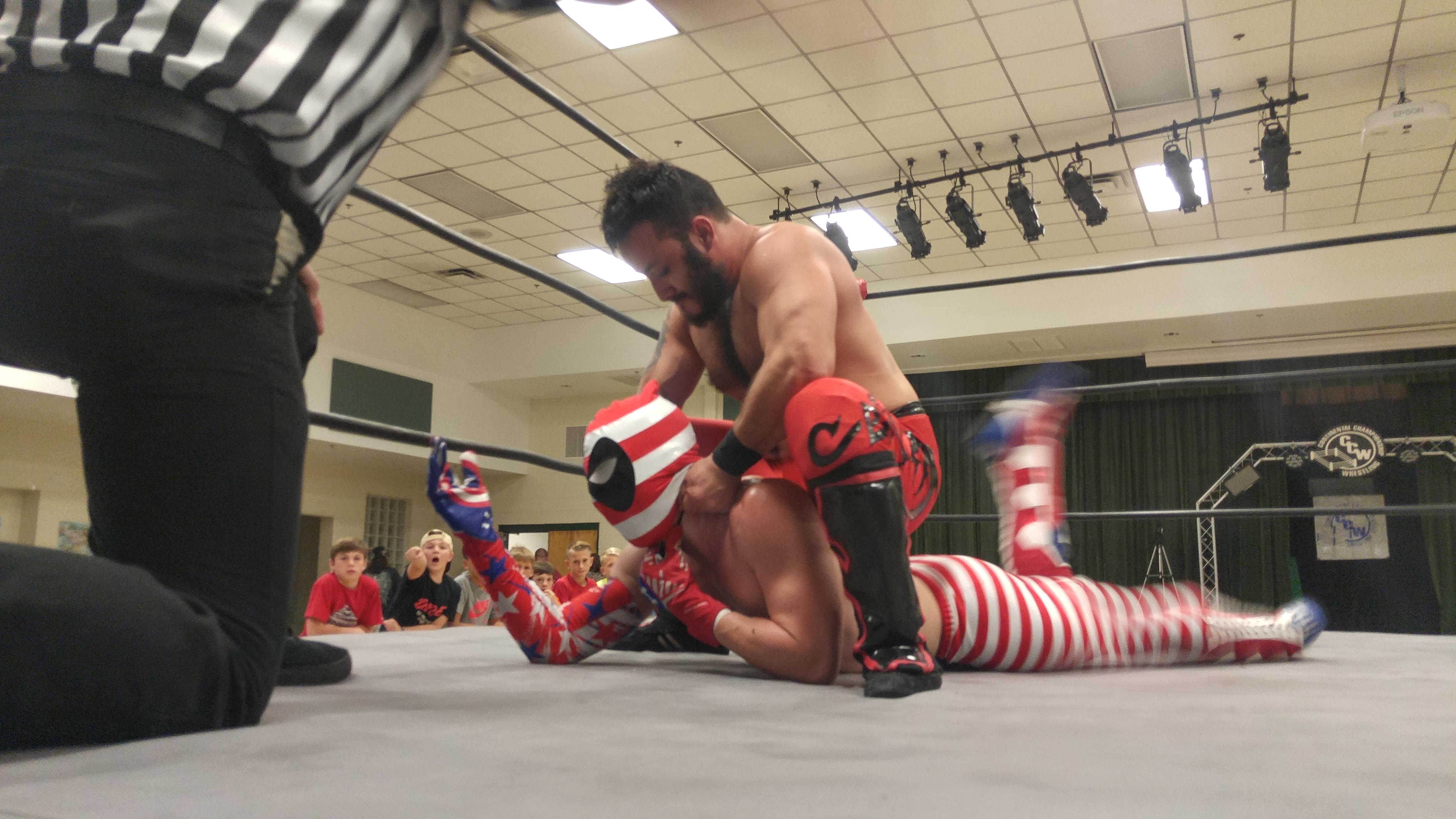 Dante Steele vs. American Prodigy
