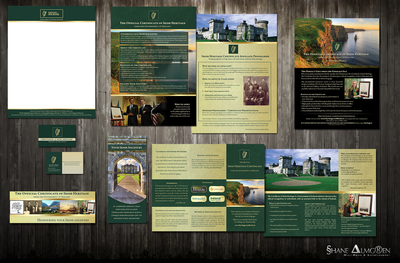 Certificate of Irish Heritage