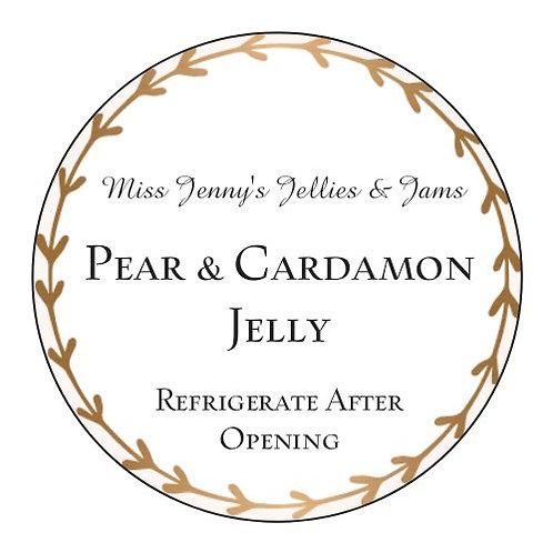 PEAR & CARDAMON JELLY