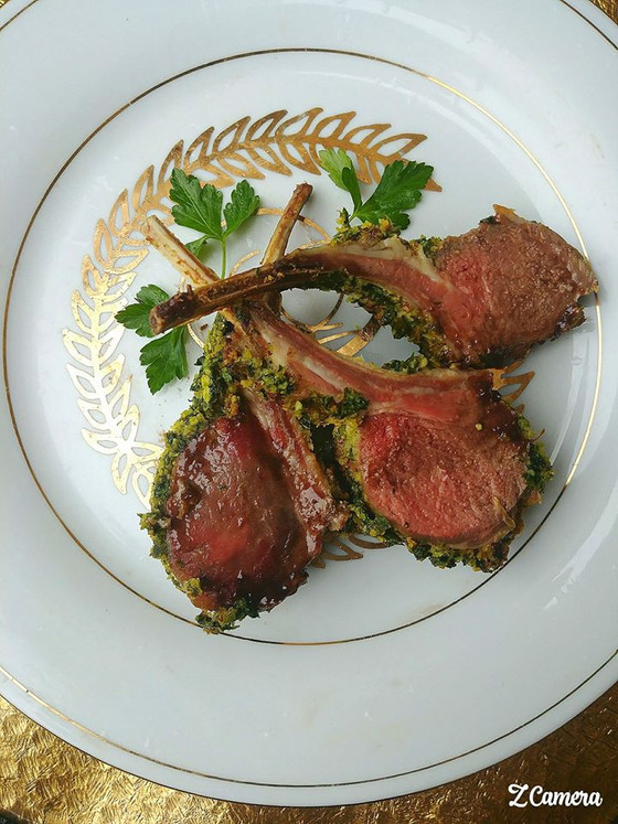 Creole Herb Crusted Lamb