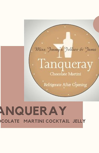 TANQUERAY CHOCOLATE MARTINI COCKTAIL JELLY