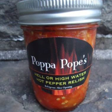 POPPA POPE'S HOT PEPPER RELISH