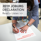 2019 Joburg Declaration