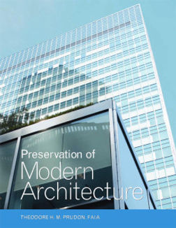Preservation-of-Modern-Architecture-Book