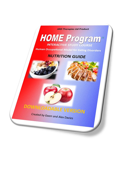 HOME Nutrition Guide For Eating Disorders