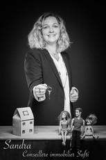 Sandra - conseillère immobiliere