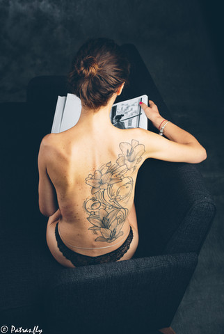 Nude - tattoo