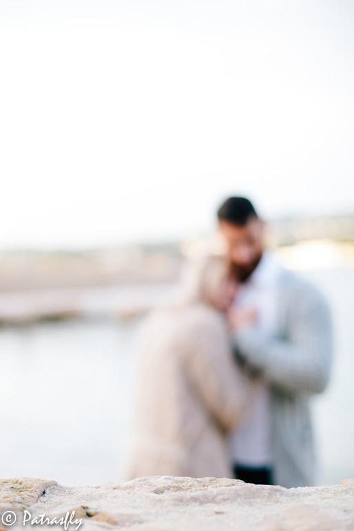 Engagement - plage