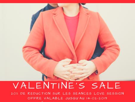 "Valentine's session ""offre spéciale"""