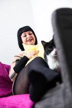 life style - pet's life - chat - maison - var - flys