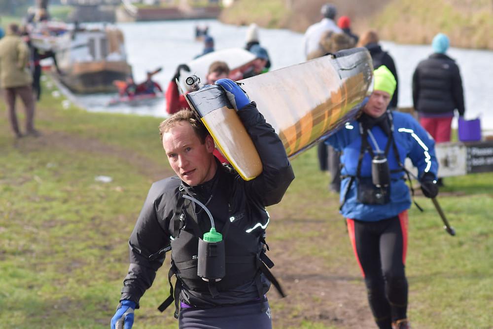 Adam marathon canoeing