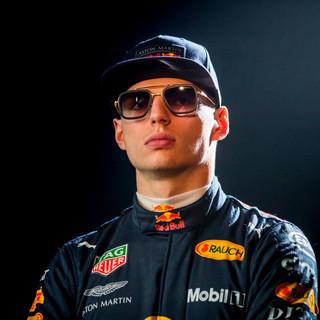 Max Verstappen of the Aston Martin Red Bull F1 team wearing the DITA Eyewear Flight 6.