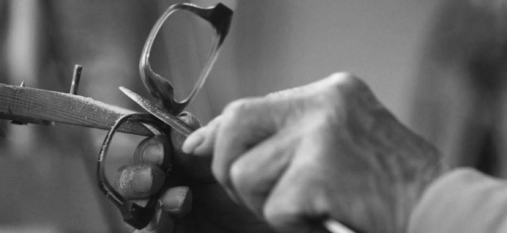 Matsuda frames are created by hand.