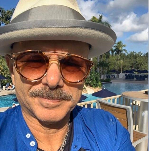 Joe Pantoliano wearing Blake Kuwahara Eichler
