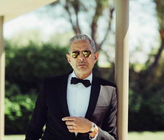 Jeff Goldblum in MYKITA sunglasses.