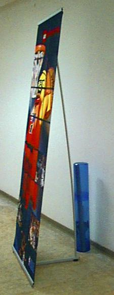 Мобильный стенд Ал80х200см