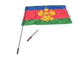 Маленький складной флагшток для флага 90