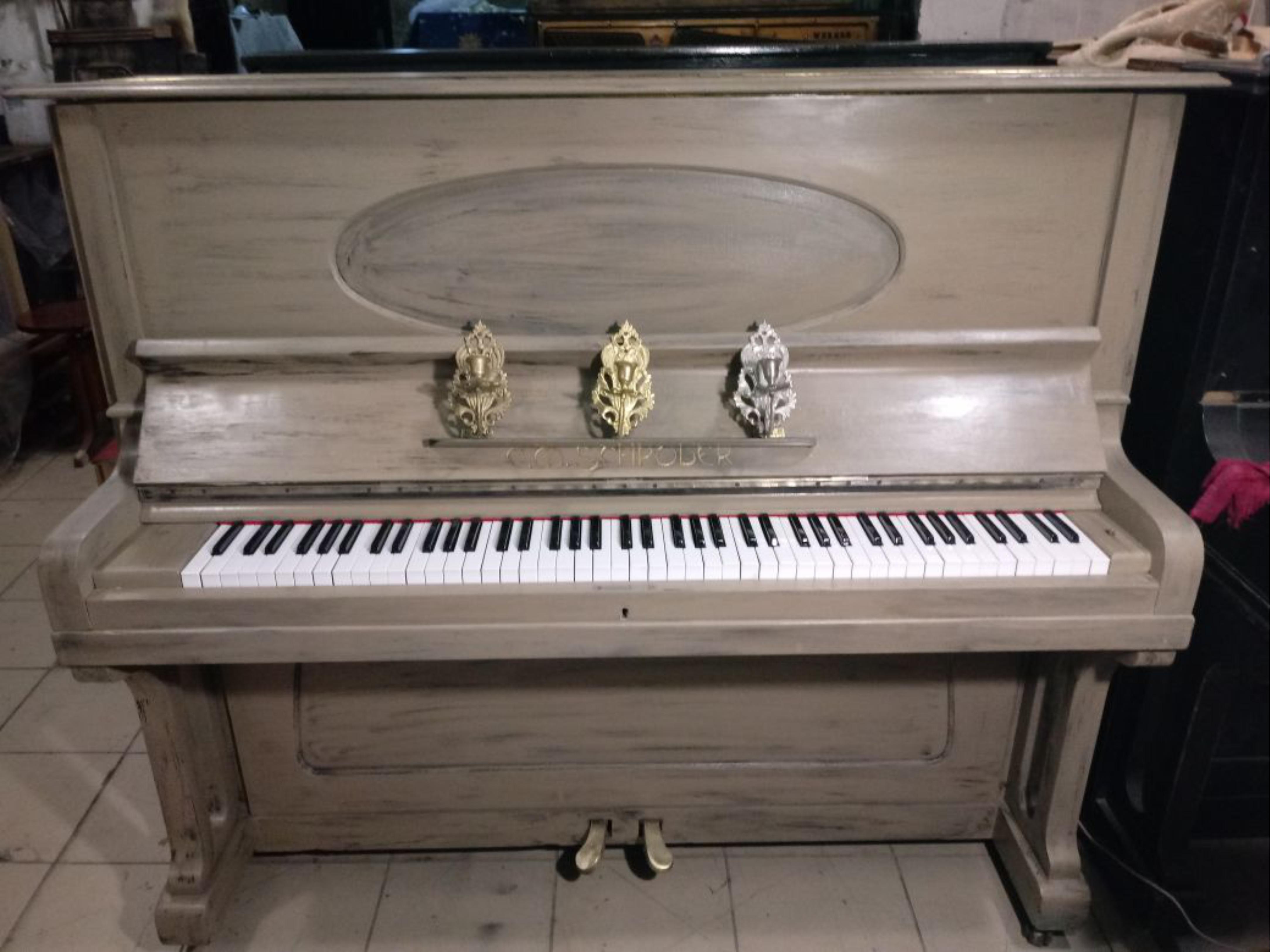 Фортепиано шредер. Реставрация.