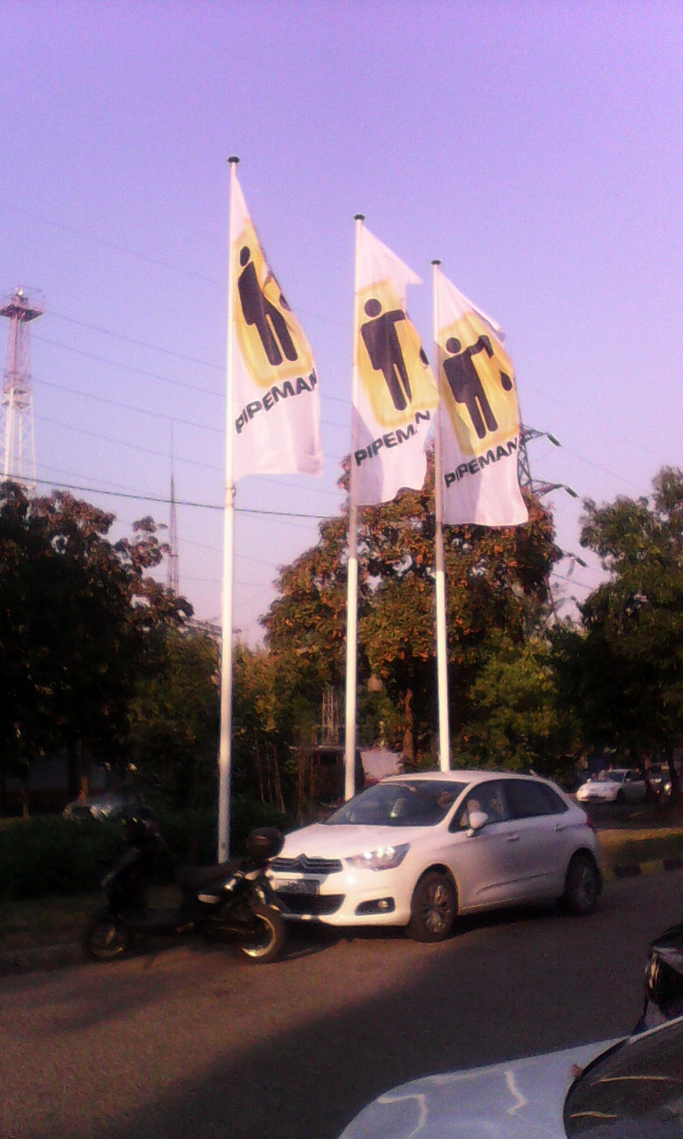 флаг 150х400см