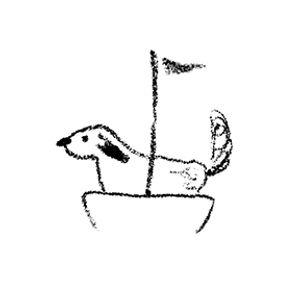 כלב בסירה.jpg