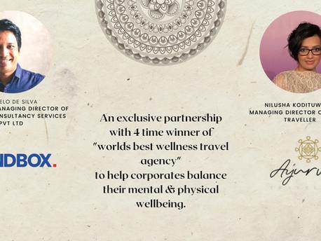 Sandbox partners with world class wellness experience provider Ayurva.