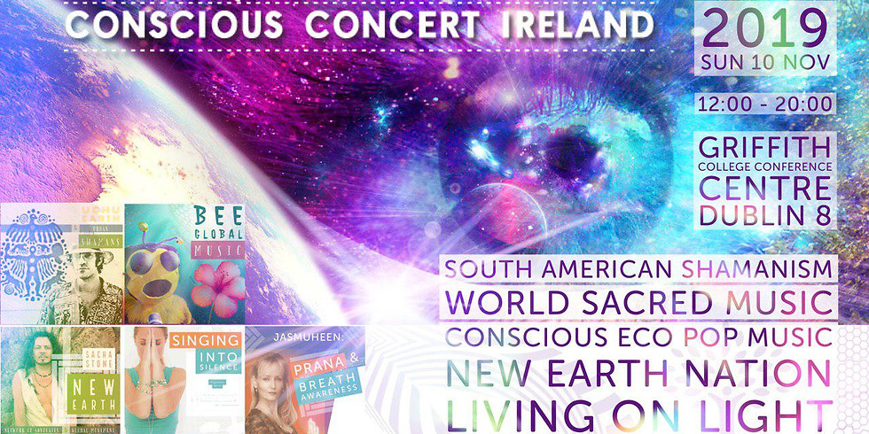 2019 NEW EARTH WISDOM Conscious Concert Ireland